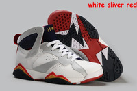 Hot!2014 New Cheap Wholesale Authentic Brand Men's Retro 7 Basketball Shoes Sneakers for Sale Super A+ Top Quality EUR Size 41-4