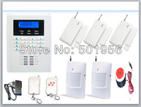 Dual Network PSTN GSM Security Alarm System Home  With 2 Wired and 99 Wireless Zone