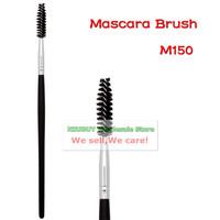 Black Wood Handle Professional Single Makeup Brush Mascara Brush Superfine Hair Eyelash Cosmetic Tools