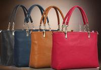 Hot Sale New 2014 Fashion Desigual Brand  flower print top handbag brand cheap price leather briefcase messenger bag Q5