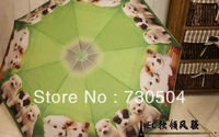 Free shipping children/kid cartoon umbrella pattern many dogs /sun umbrellas/ umbrellas rain