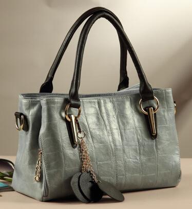 Hot Sale New 2014 Fashion Brand Women Handbag genuine Leather Shoulder Bags Women Messenger Bolsas 5 Colors Q9 F230(China (Mainland))