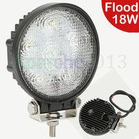 Hot sales 2015 New 18W LED Work Light Flood Beam Offroads Lamp Light Boat Truck 12V 24V 4WD 4x4 LED Bulbs