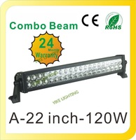 12V 24V 21.5 Inch High Power 120W LED Lights Bar Flood Spot COMBO WORK Light  4WD UTE OFF ROAD For Truck Boat Camping