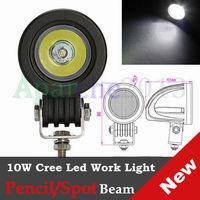 Hot sales 2015 New 10W Cree LED Work Light Spot Lamp Driving FOG 12V CAR 4x4 Motorcycle ATV Boat LED Bulbs