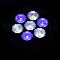 Hot sales 2014 New E27 21W 7x3 PAR30 LED Coral Reef Grow Light 4WHITE 3BLUE Fish Tank Aquarium Lamp LED Bulbs