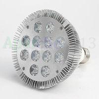 Hot sales 2015 New E27 12x3 36W PAR30 LED Coral Reef Grow Light 8WHITE4BLUE Fish Tank Aquarium Lamp LED Bulbs