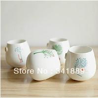 Hot,Best Gift,Simple fresh Japanese Style,Creative Ceramic Cup,Mug Milk Glass,Cute Forest Animal Tumbler 3PCS/SET,FREE SHIPPING
