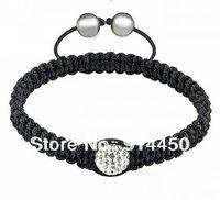 handmade bangles,top qualityone piece bracelet micro disco ball 2 styles new shambhalla jewelry mix colours free P&P