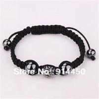 handmade bangle,1pcs shamballa bracelet micro disco balls fashion shambhalla jewelry black mix colours free P&P