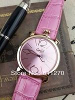 Gaga milano watch movement ultra-thin watch large dial unisex fashion watch