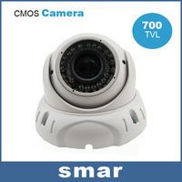 42IR Infrared LED 700TVL CMOS Vandalproof Dome Camera 2.8-12mm 2 Megapixels Lens Night Vision CCTV Camera Home Security