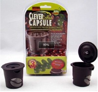 3pcs/Pack Clever Coffee Tea Capsule Reusable Single Coffee Filter Keurig