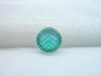 10pcs 12mm Handmade Photo Glass Cabochons (Chevron Patterns wave line) GB30-32