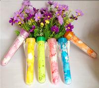 Derlook camping travel kit portable test tube soap flower tablet soap film Color Random