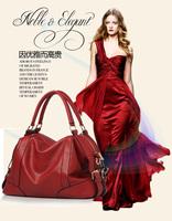 2013 new tide female layer leather handbags genuine  leather handbag single shoulder bag messenger handbag