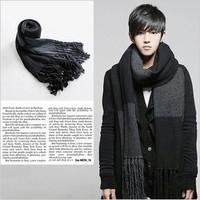 Men's Scarf Fashion Korean-style Thicken Longer Scarf For Winter Freeshipping Wholesales PWX070