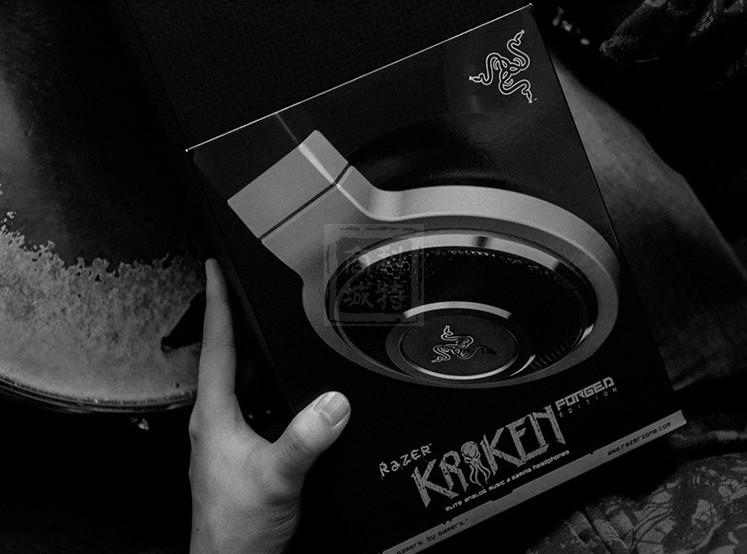 Razer Gaming Headset Headphone Kraken Forged Edition Music Headphones Headband with MIC Dota 2 Consumer Electronics