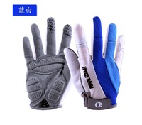 Brand Authentic Sports Apparel 3D Full Finger Gloves Outdoor Cycling Bike Bicycle Racing Riding Gloves Trid Free Shipping L0235