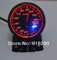 "2.5"" 60MM Defi Advance CR Gauge black face  water temp Meter Defi Gauges Car Meter"