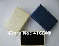 Free Shipping Wholesale 32pcs/lot 8x5CM Black sponge Multi colors Jewelry Set Display Earrings/Ring/Pendant/Necklace gift Box