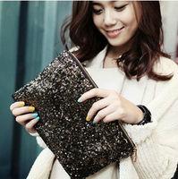 Dazzling Glitter Sequins Spangle Handbag Party Evening Bag Wallet Purse Clutch