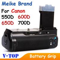 MeiKe BG-E8 MK-550D Battery Grip for Canon 650D T4i 600D T3i X5 550D T2i Free Shipping