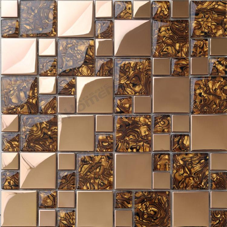 glass mosaic tiles for kitchen backsplash bathroom shower square block