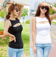 women's bodycon sexy women summer dress slim fit cutout vest plus size xxl 3xl 4xl 5xl 6xl cotton women clothing women t-shirt
