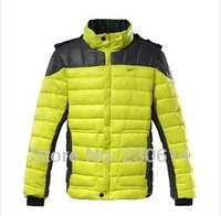 Free shipping hotsell Winter NK jacket men  100% down ski coat fashion super thickening duck down jacket