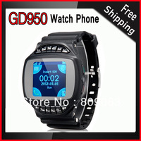 GD950 1.44 inch 1.3MP Camera Quad Band Watch Mobile Phone with Bluetooth and Video Recorder