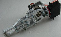 2 servos arm -13CM 2DOF robotic arm belt gipper acessorios