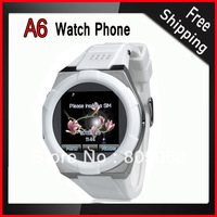 A6 1.54 inch Single SIM Card Quad Band Watch Phone with  1.3MP Camera, JAVA, Bluetooth, Video Recorder