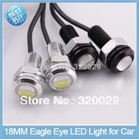 2pcs/lot High Power Eagle Eye DRL Lamp  Daytime Lights 18MM Angel Eyes led car light source Waterproof Parking light lamp