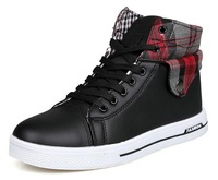 Men's Fashion Casual Skateboard Shoes Men Boots Winter School Sneakers Free Shipping S003