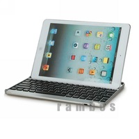 Protective Tablet PC Metal Aluminum Wireless Bluetooth Keyboard Case Cover for iPad air for iPad 5