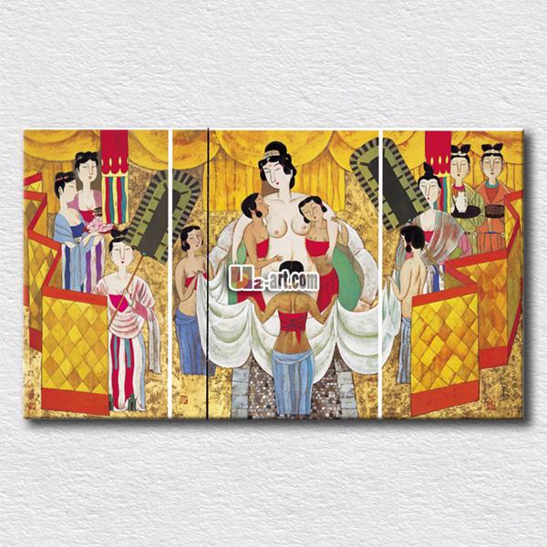 Online kopen wholesale schilderijen mensen canvas uit china schilderijen mensen canvas - Oude huisdecoratie ...