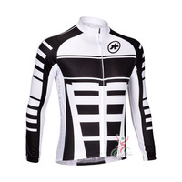 Free Shipping 2013 Assos Team Men's Long Sleeve Cycling Jerseys Breathable Wicking Quick-drying Cycling Jerseys