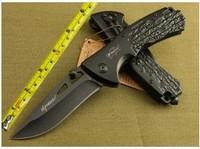 Elf Monkey B097 Pocket Folding Knife Outdoor Camping Hunting Knife 440C Blade Aluminum Handle Fast Shipping