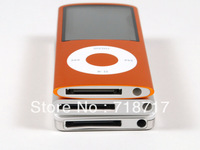 COLORS 4GB FM VIDEO 4TH GEN MP3 MP4 PLAYER flip player FREE SHIPPING