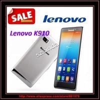 Original Lenovo vibe z K910 K910e 5.5 inch FHD 1920x1080 Snapdragon 800 Quad Core Android 4.2 2G Ram 16G Rom 13MP GPS Cell phone
