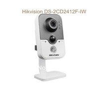 Hikvision DS-2CD2432F-IW  4mm Lens  C2 3MP IR Cube Network Camera PIR detection DWDR & 3D DNR & BLC WiFi IP Camera