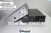 2x160W HIFI Bluetooth Digital Amplifier TDA7498E  Bluetooth4.0 CSR Chip TPA6120 Earphone Amp Automatic Switch