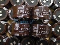 Free Shipping 2013 New Original KMQ Series 400V 220uf 35x20mm 105C 20% Snap-In Electrolytic Capacitor EKMQ401VSN221M / Stock