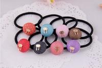 Free shipping New Women's Fashion Headband Hair Rope Rubber Band Hair Band Elastic Hair Bands