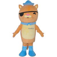 Fancytrader 100% Real Pictures! Deluxe The Octonauts Kwazii Mascot Costume With Fan & Helmet, Free Shipping! FT30608