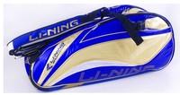 Free shipping  Badminton bag linin badminton bag 6 backpack bags ABJF006 Free shipping