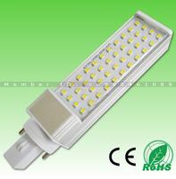 20pcs/LOT! 5W/7W/9W/11W/12W/14W SMD2835 LED chip AC85-265V isolated power E27 G24 led base,Transparent PC cover,Free DHL/Fedex!