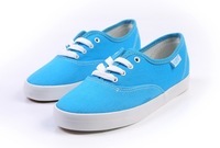 Free shipping retail and wholesale new sale brand women's canvas shoes/sneakers 7 colors size 35-39 Drop shippping N281