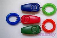 Mini Dog Pet Click Clicker Training Trainer Aid Guide**2000pcs/lot